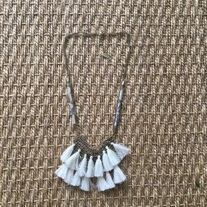 Tassel Necklace from Anthropologie